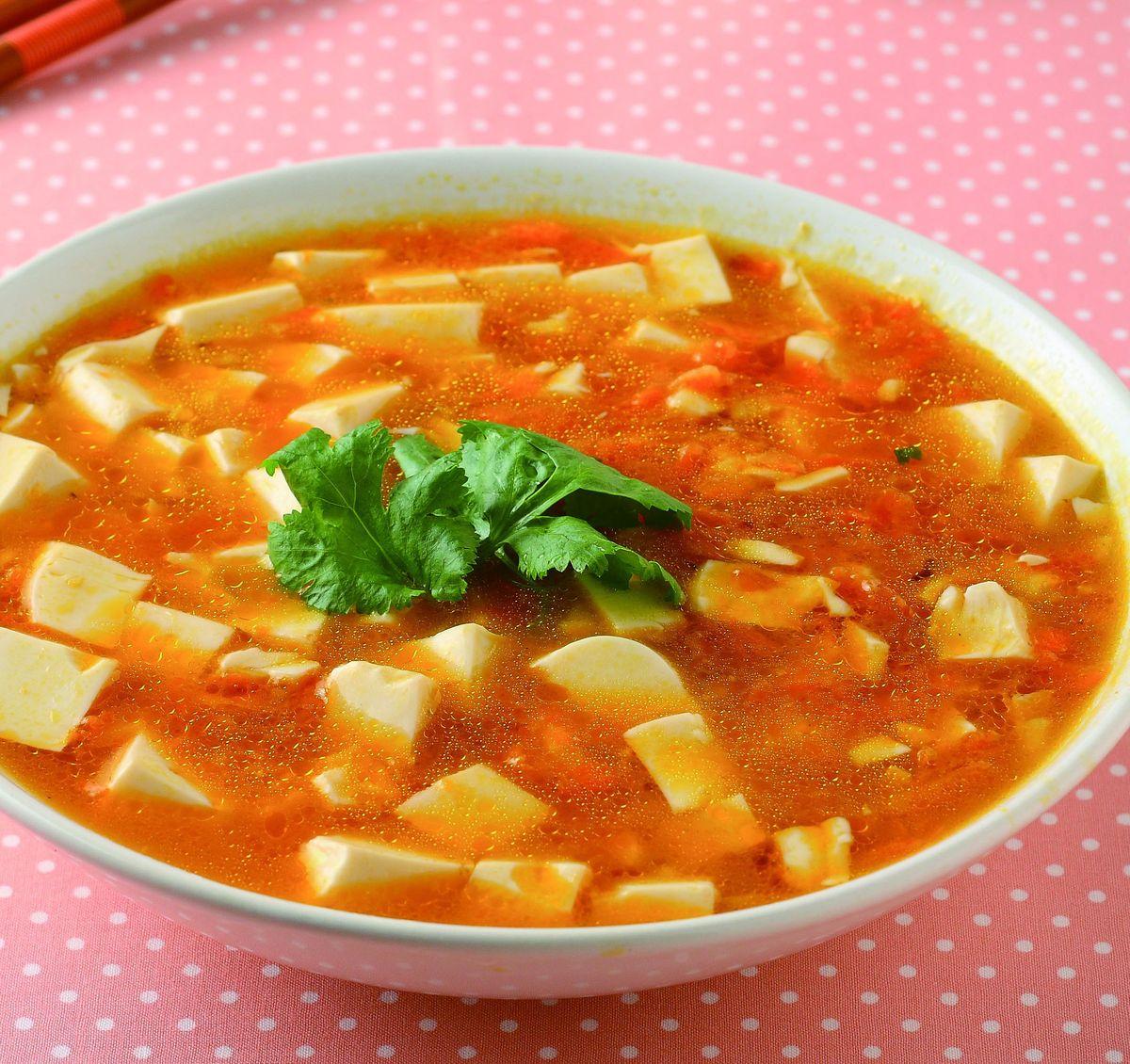 食譜:素蟹黃豆腐(1)