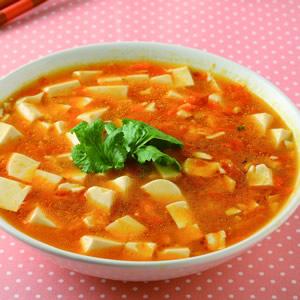 素蟹黃豆腐(1)