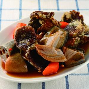 素菇蔬菜燴黑醋醬