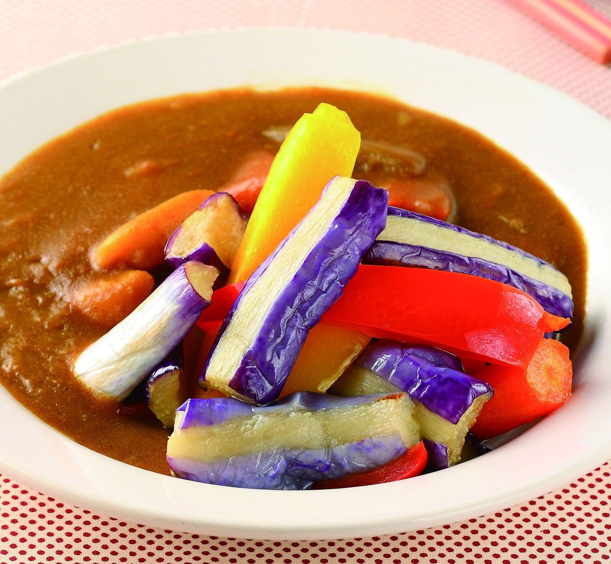 食譜:茄肉蔬菜咖哩