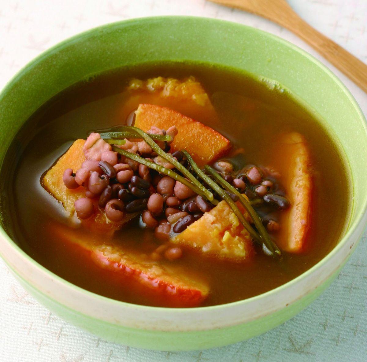 食譜:南瓜薏仁紅豆湯