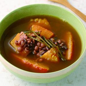 南瓜薏仁紅豆湯