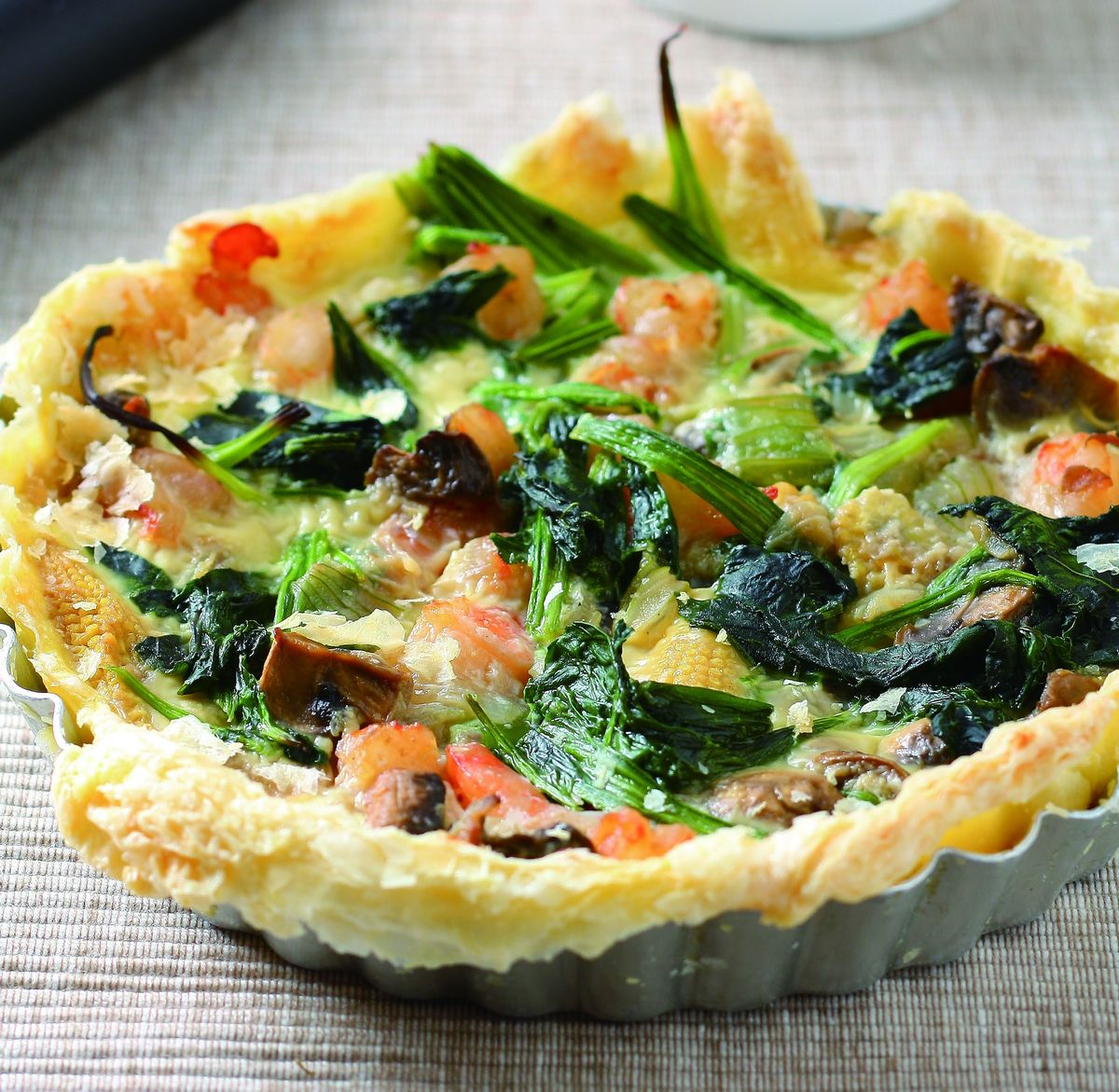 食譜:菠菜鹹派