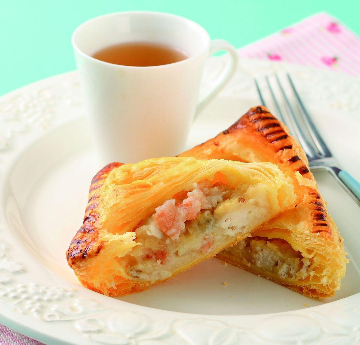 食譜:馬鈴薯海鮮鹹派