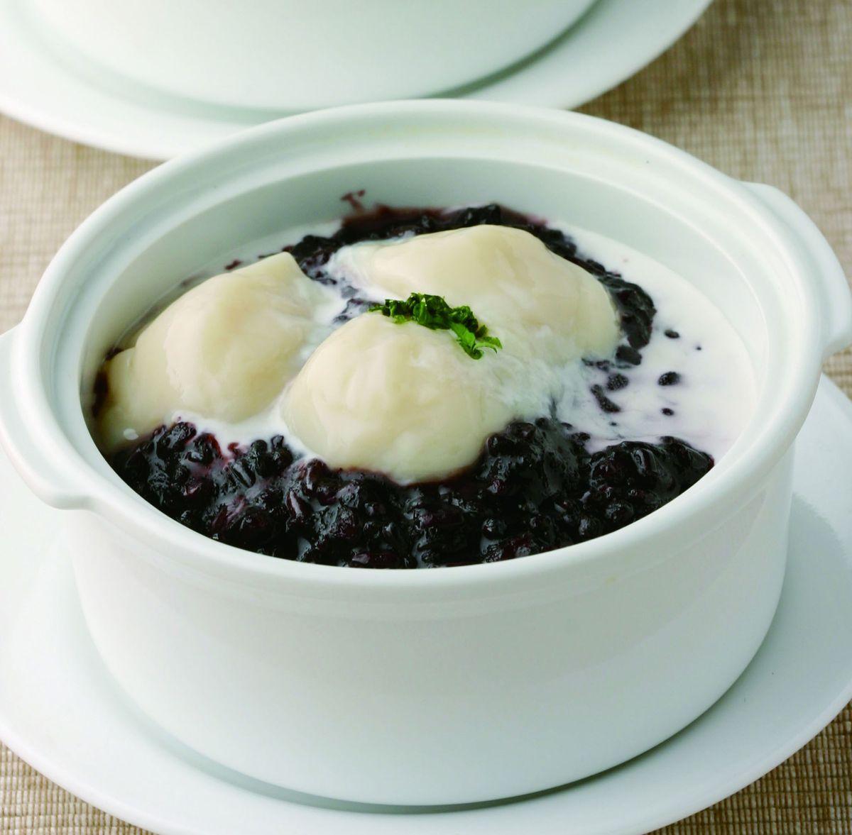 食譜:紫米椰奶豆花