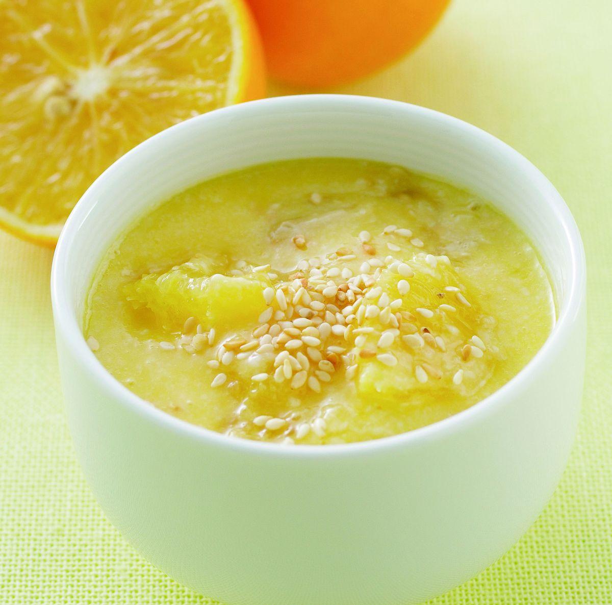 食譜:香橙芝麻優格醬