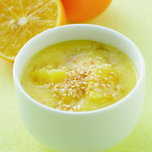 香橙芝麻優格醬