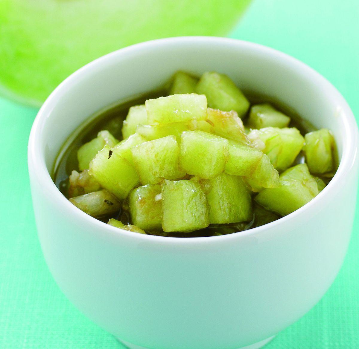 食譜:義式密瓜風味醬