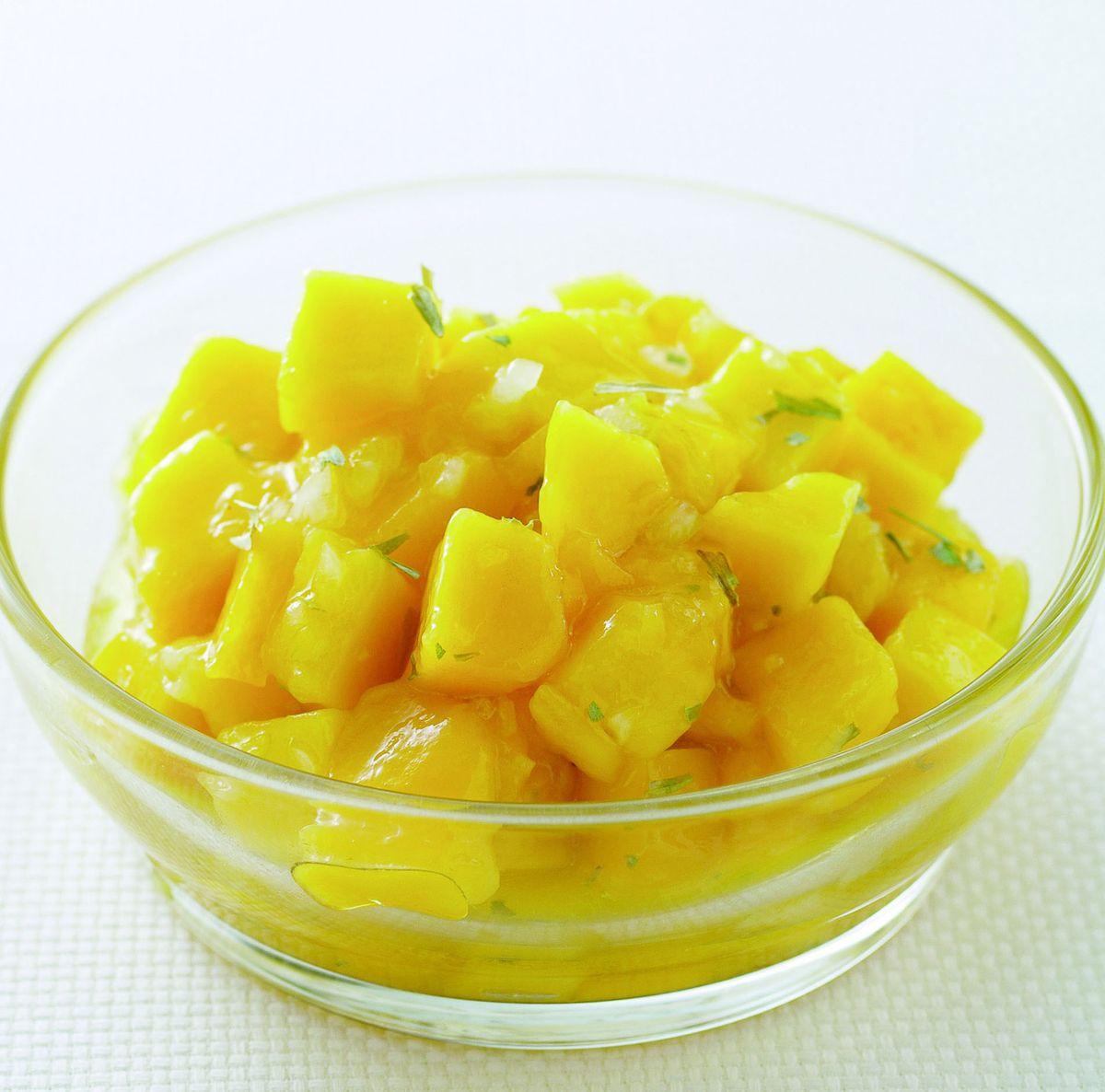 食譜:芒果蒔蘿油醋醬