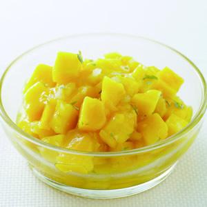 芒果蒔蘿油醋醬