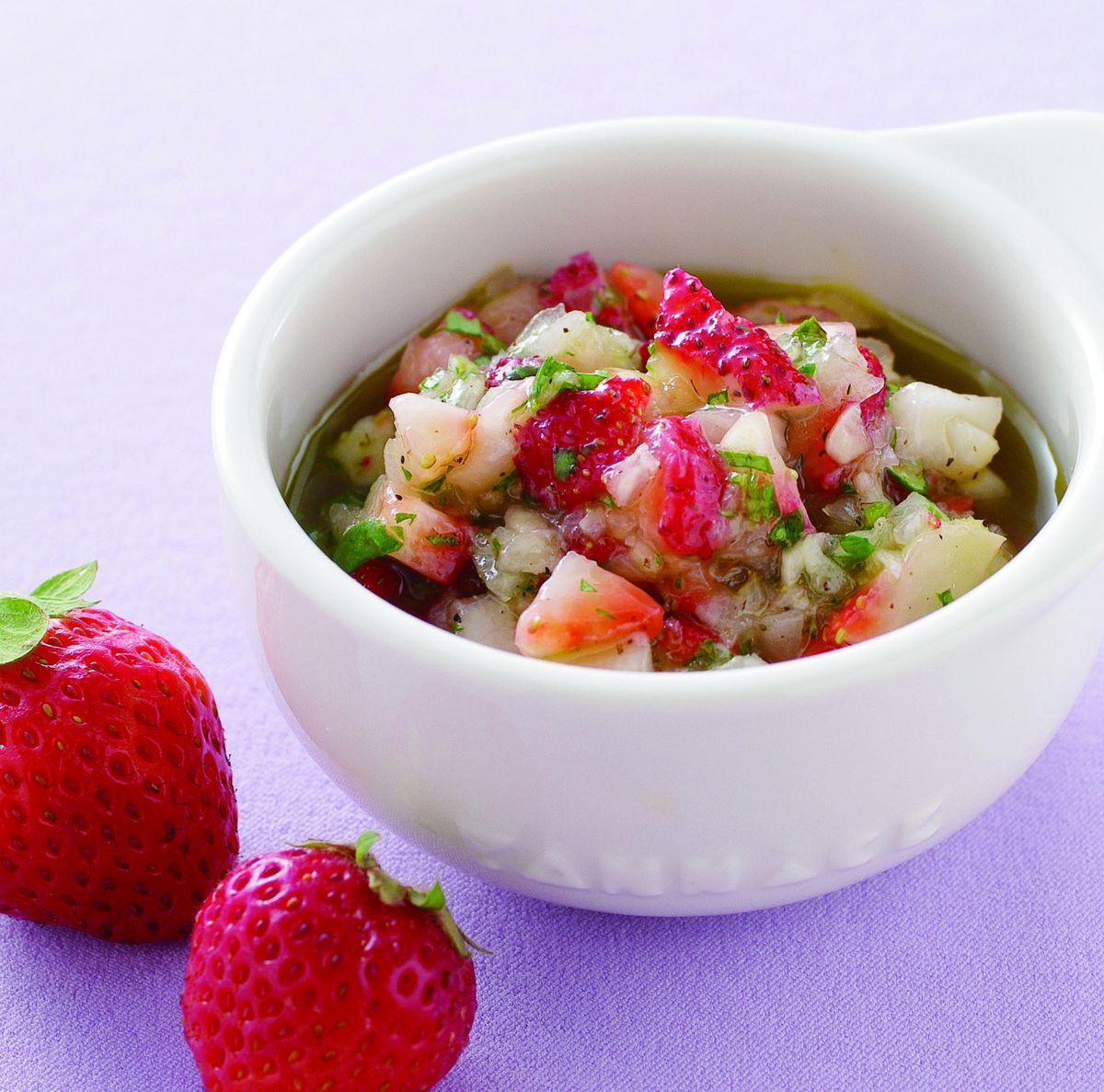 食譜:草莓莎莎醬