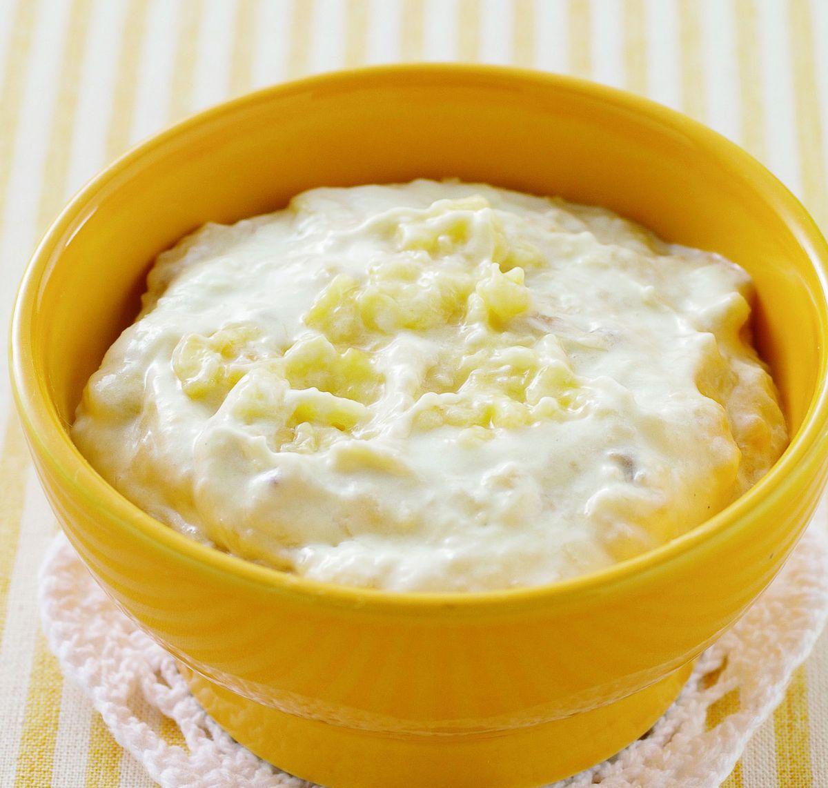 食譜:香蕉香檳奶油醬