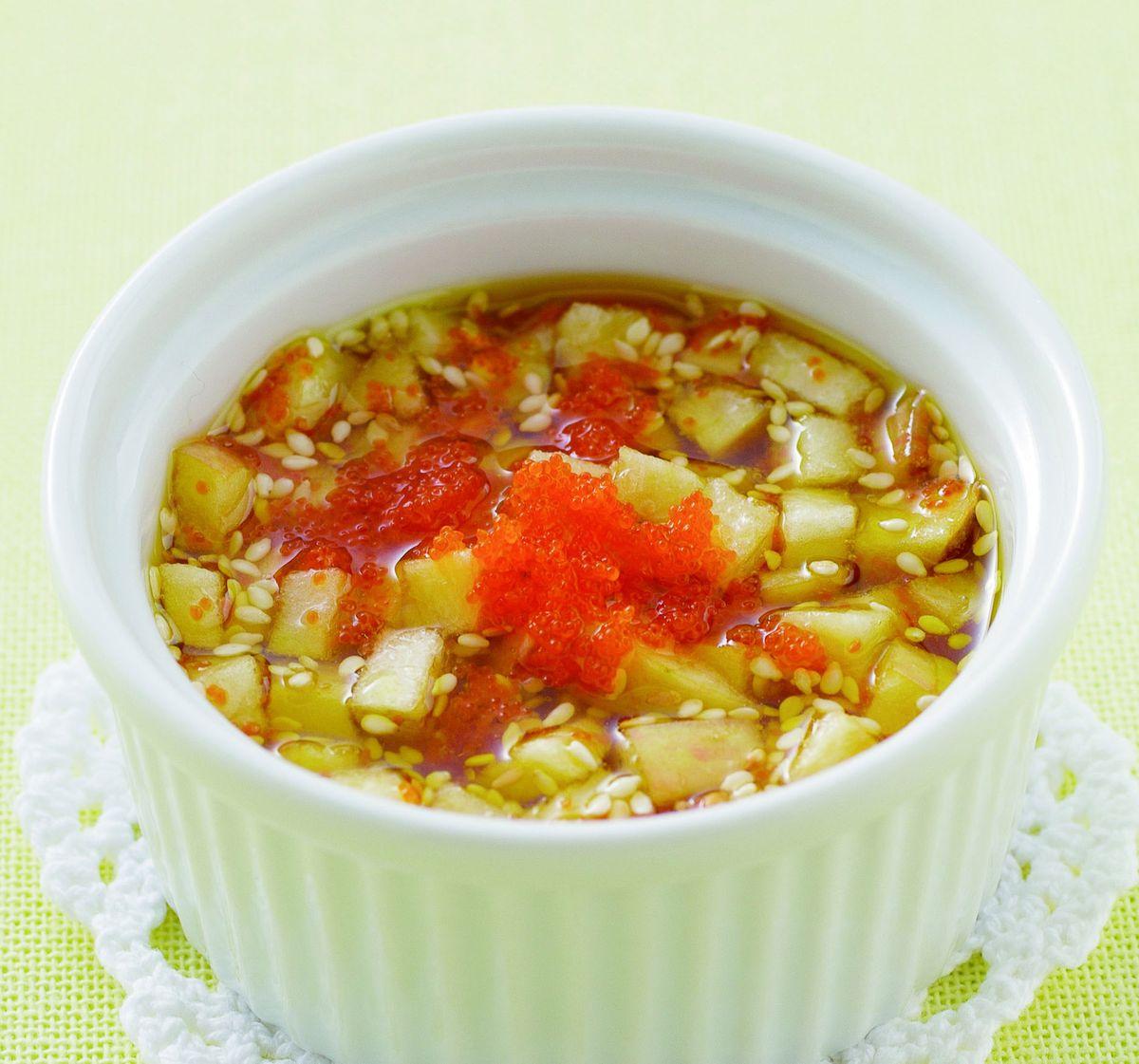 食譜:蘋果明太子醬