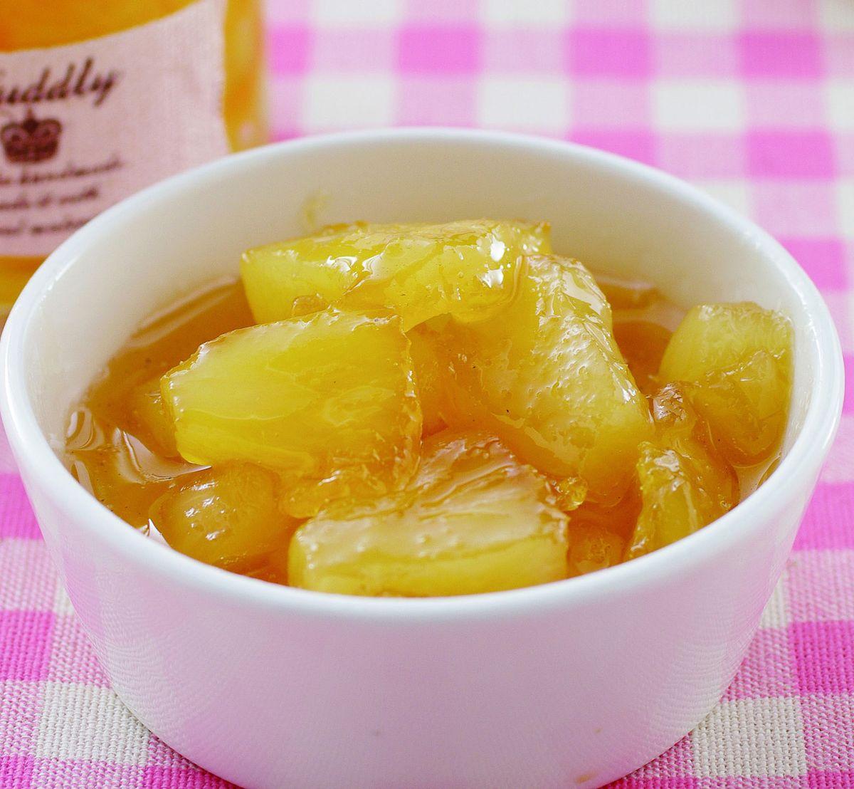 食譜:鳳梨果醬(5)