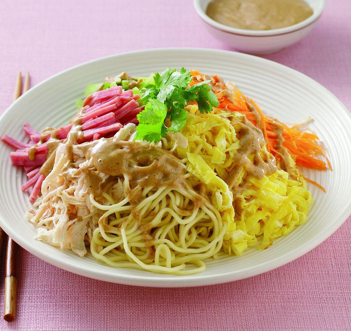 食譜:中式傳統涼麵