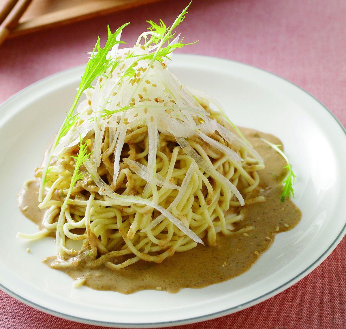 食譜:辣豆醬涼麵