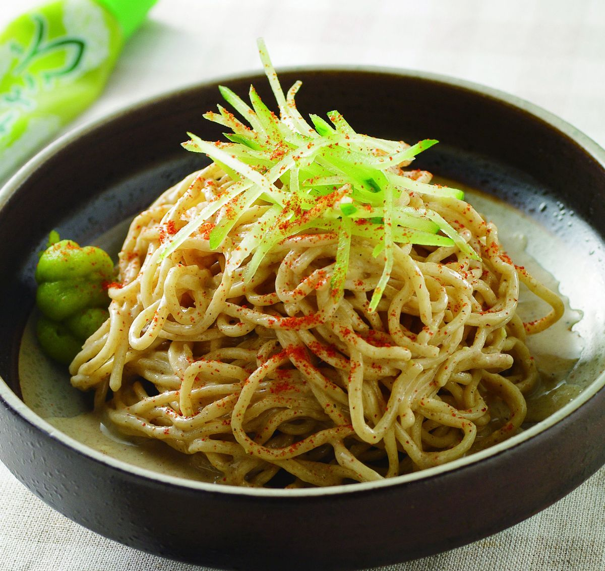 食譜:山葵芝麻涼麵