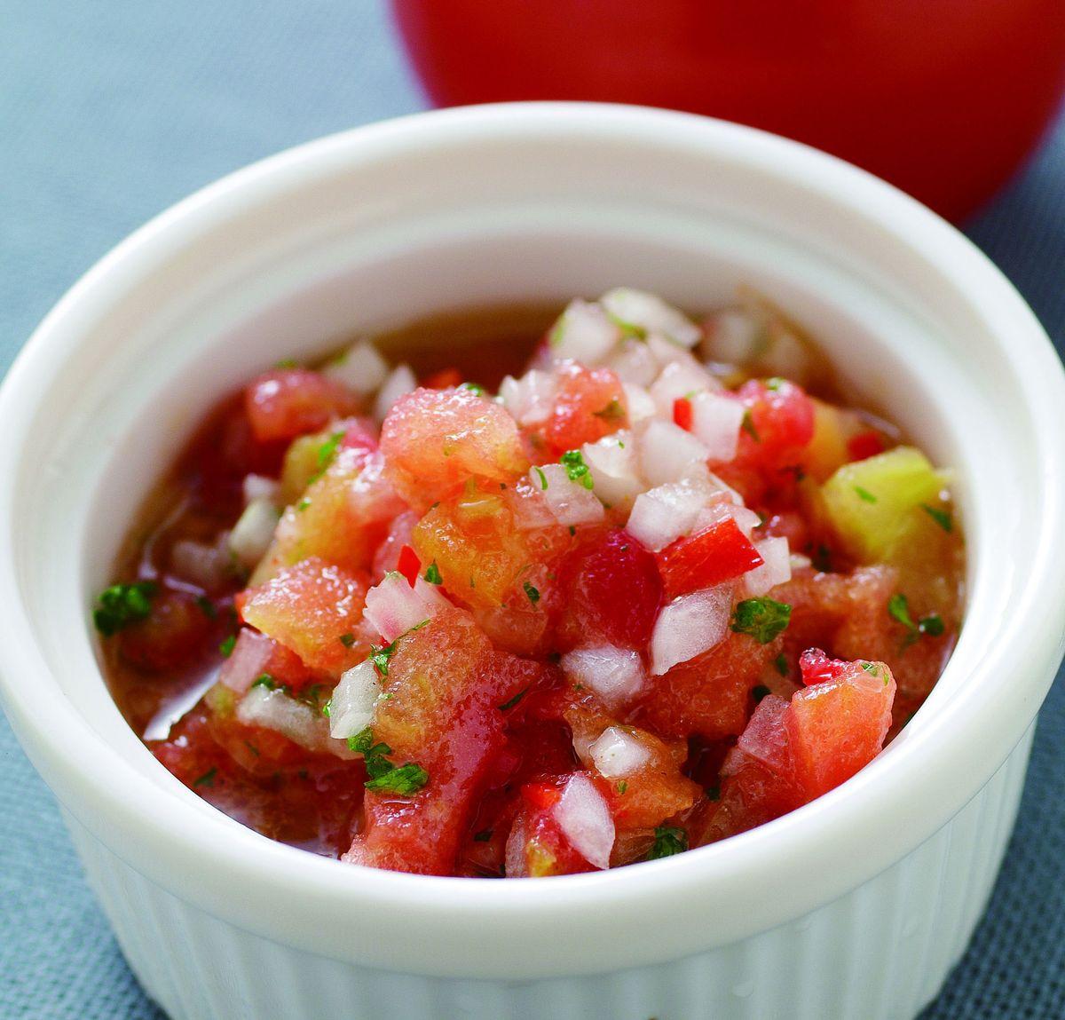 食譜:蕃茄沙沙醬