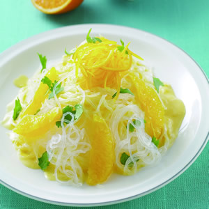 香橙優格涼冬粉