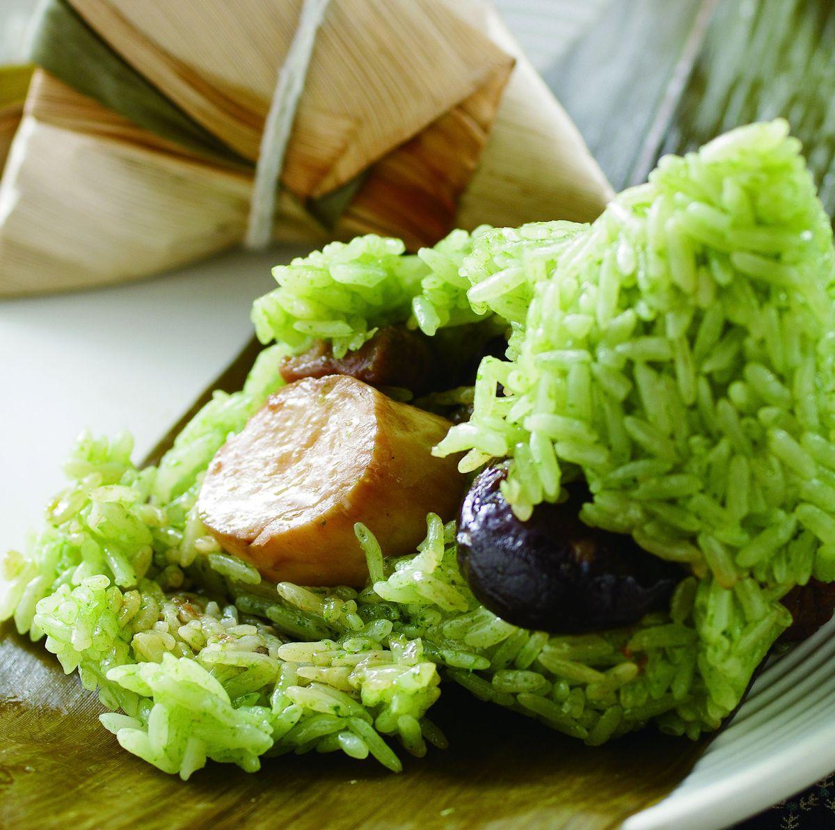食譜:蔬菜粽子