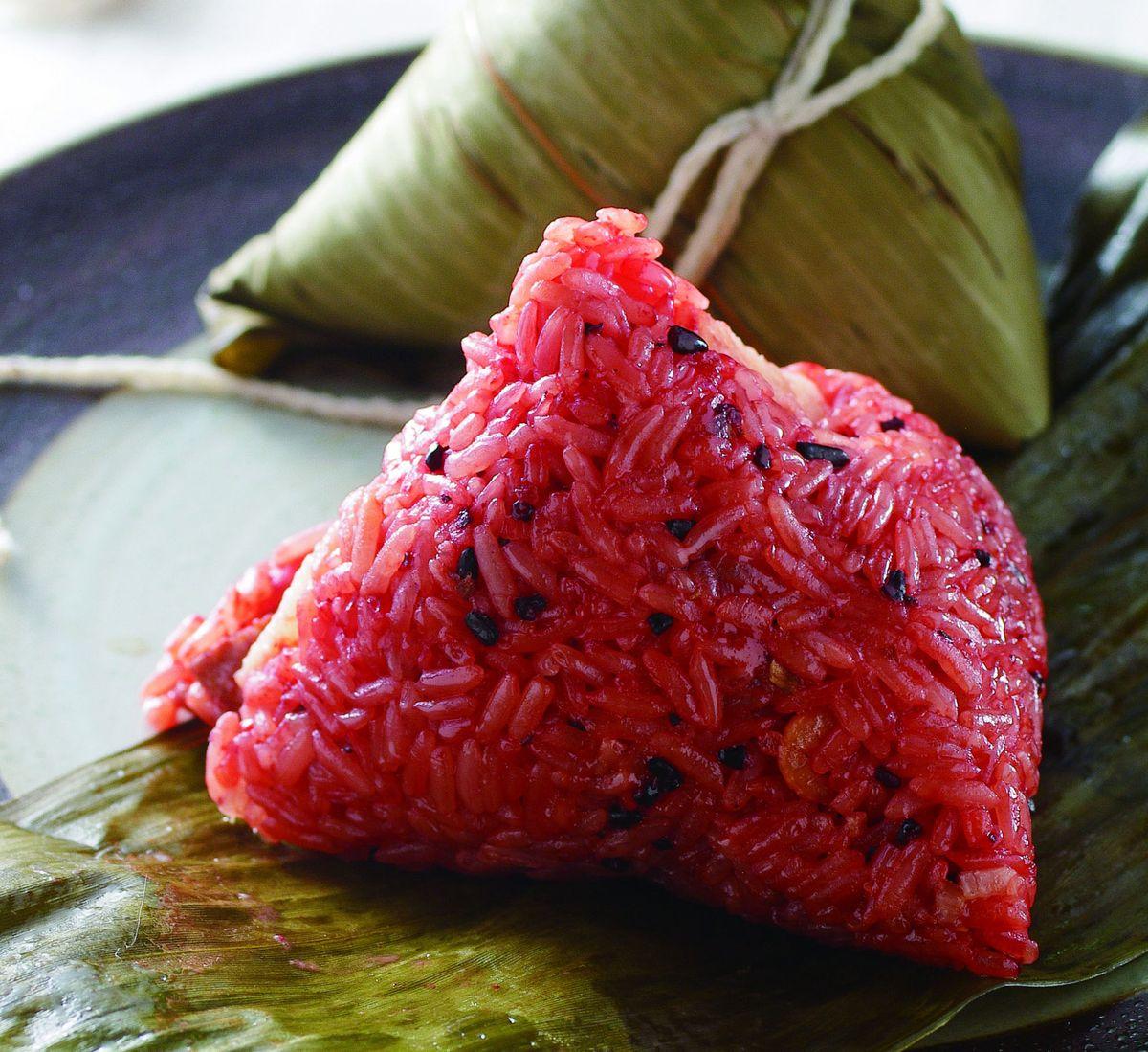 食譜:紅麴粽子