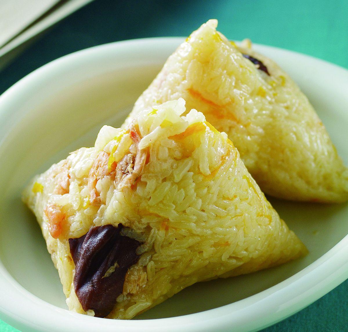 食譜:南瓜粽子