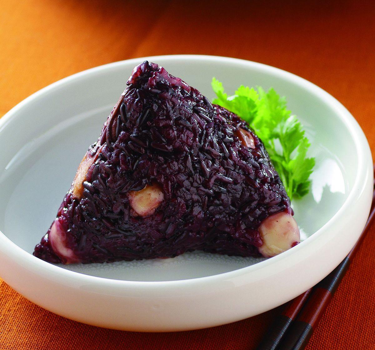 食譜:紫米蓮養生粽