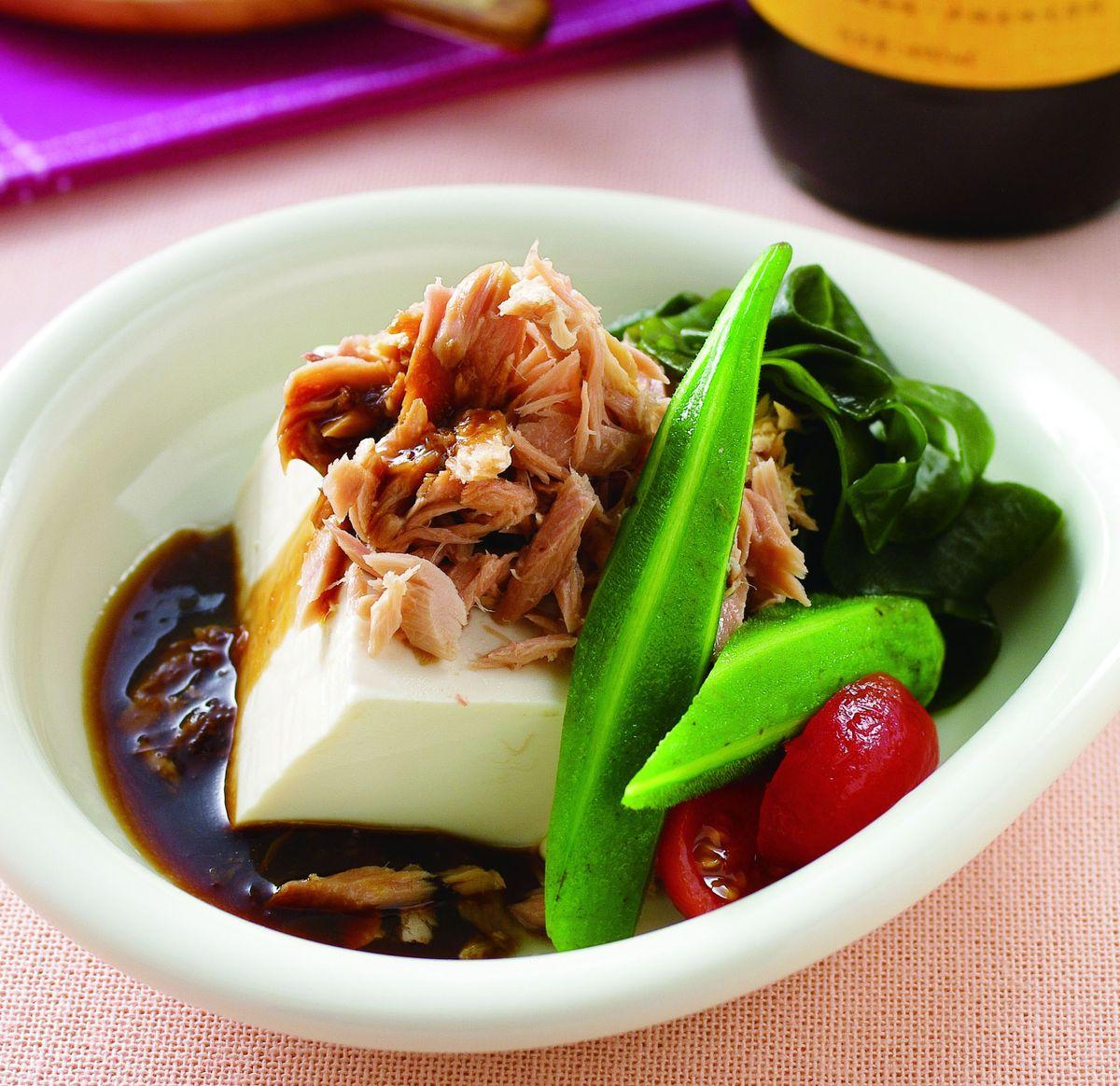 食譜:鮪魚豆腐沙拉
