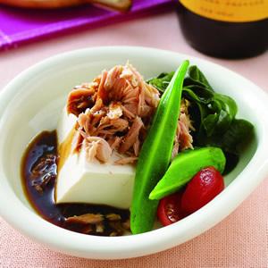 鮪魚豆腐沙拉