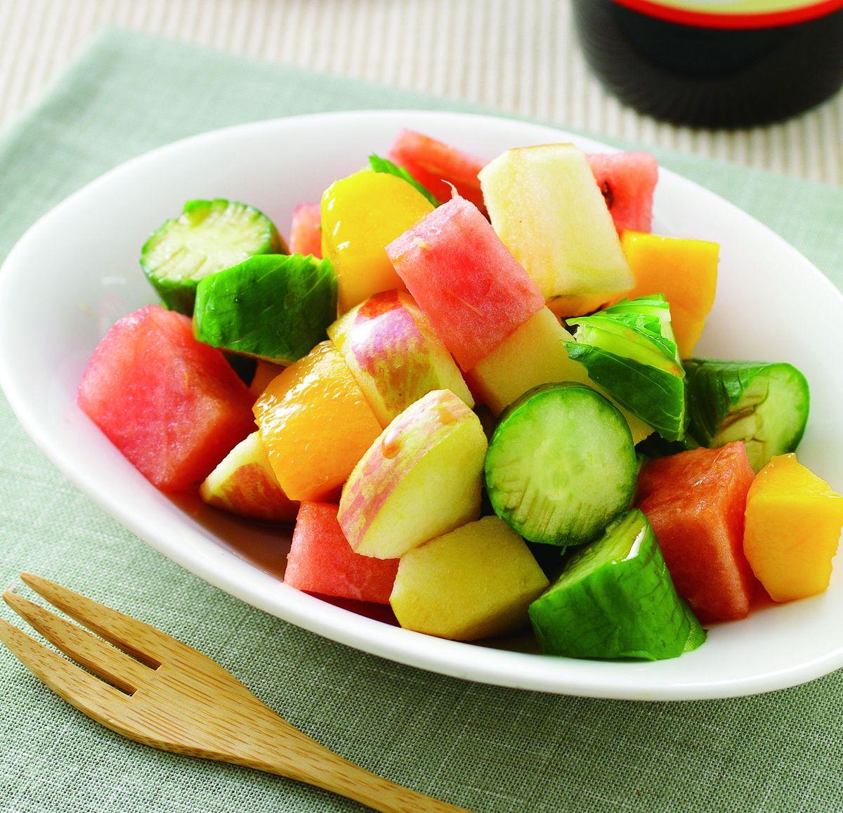 食譜:鮮果拌黃瓜