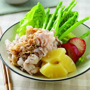 冰鎮肉片蔬果沙拉