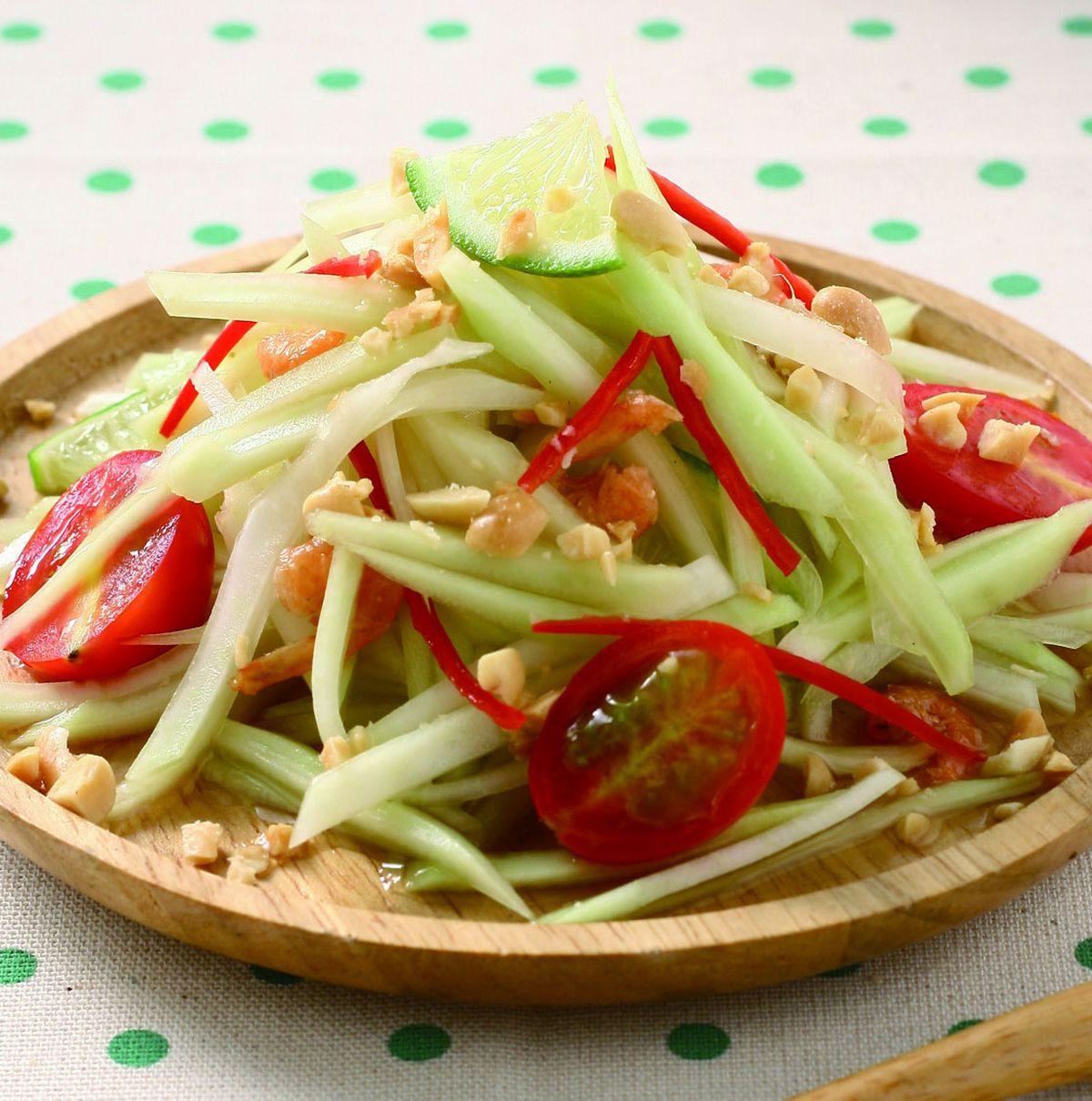 食譜:涼拌木瓜絲(1)
