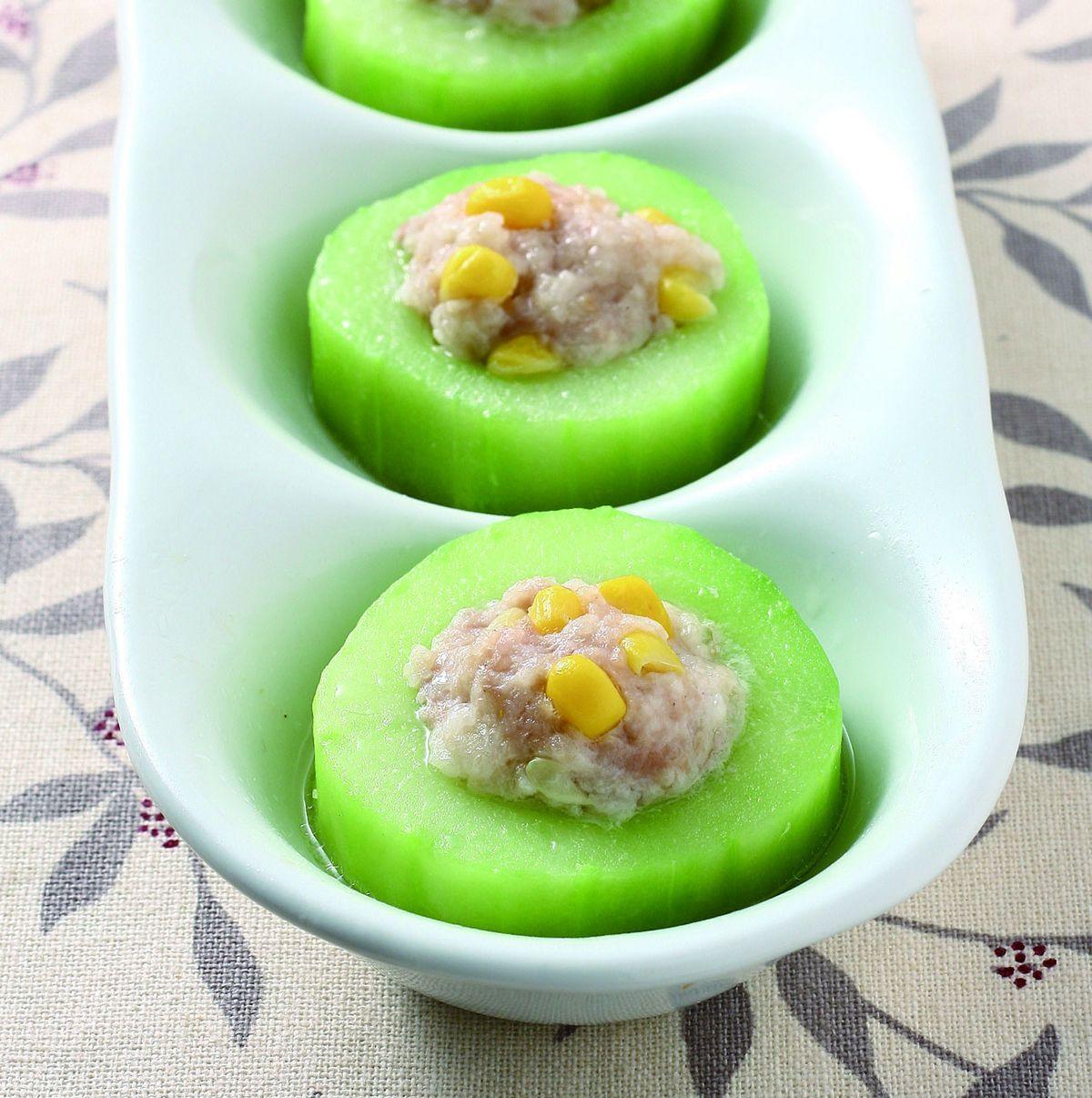 食譜:大黃瓜鑲肉