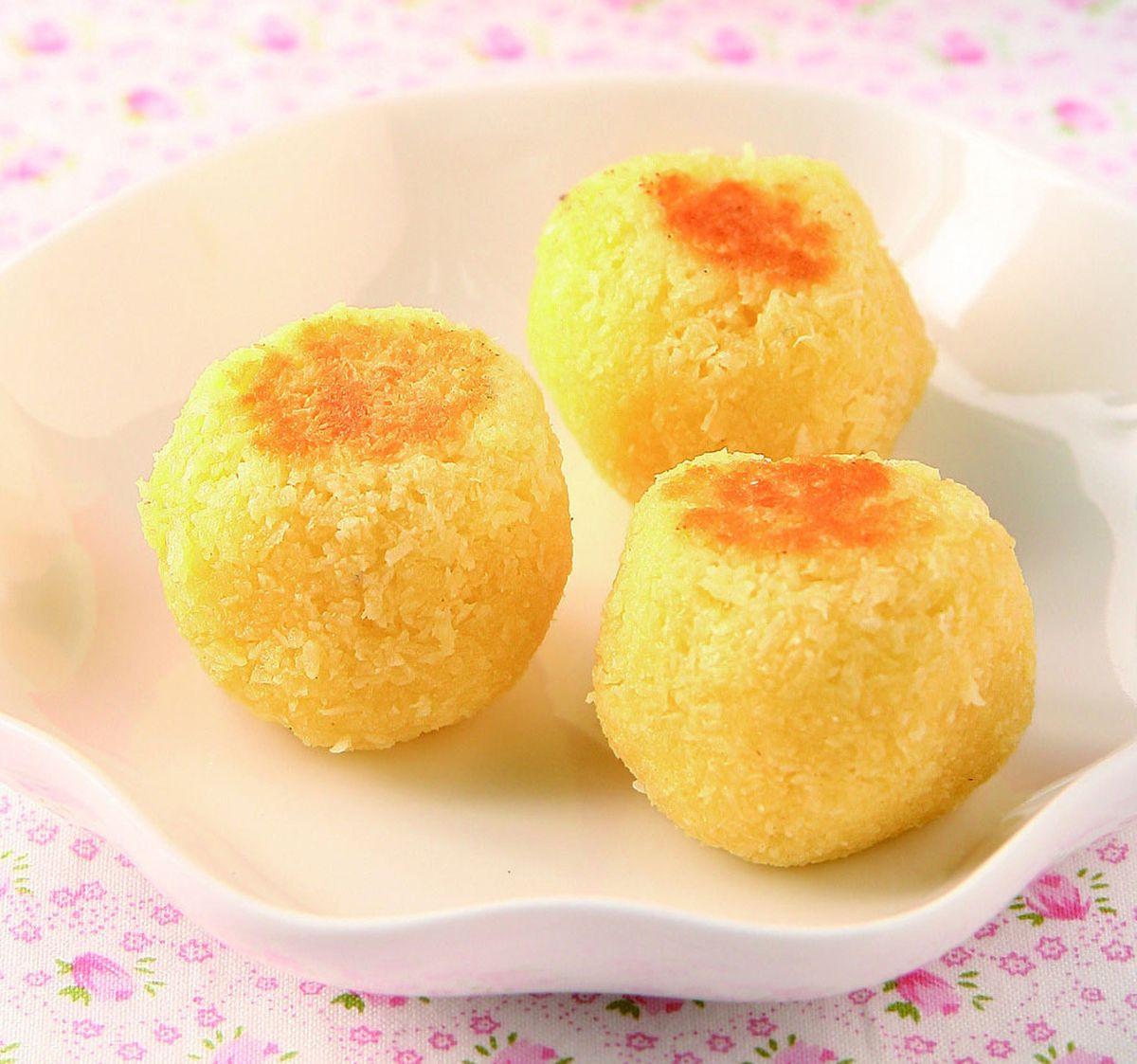 食譜:奶油椰子球