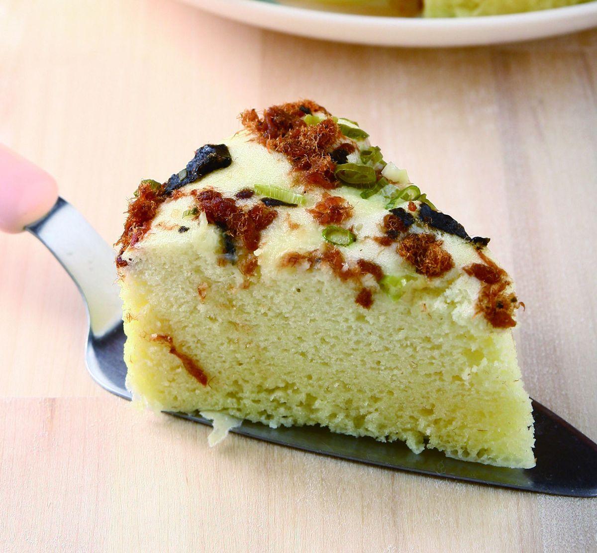 食譜:肉鬆蒸蛋糕