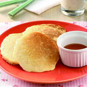 肉桂燕麥煎餅