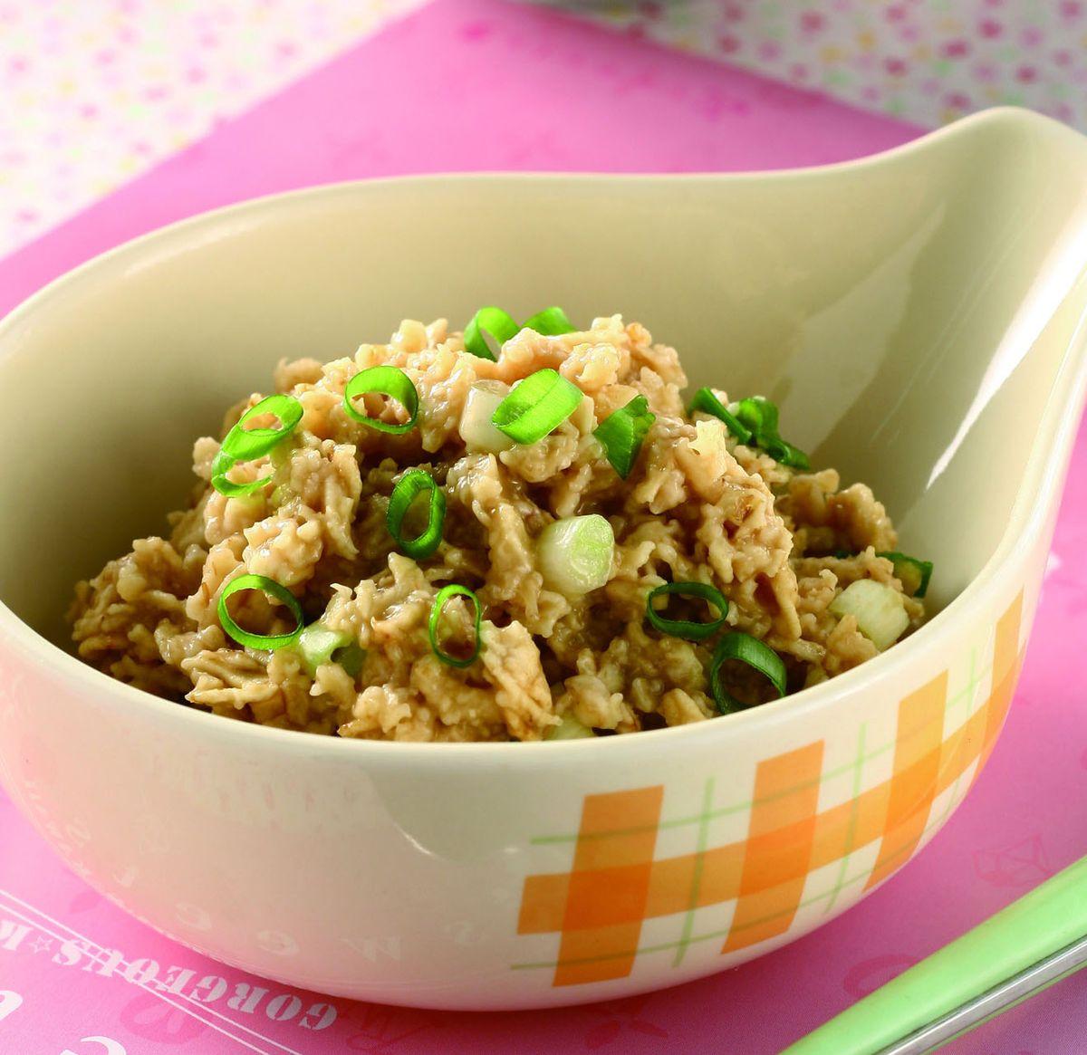 食譜:香蔥燕麥粥