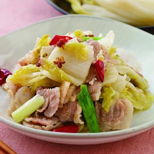 酸白菜肉片