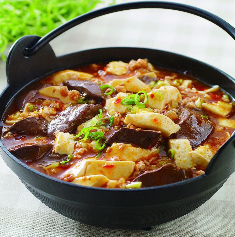 食譜:辣鴨血旺豆腐