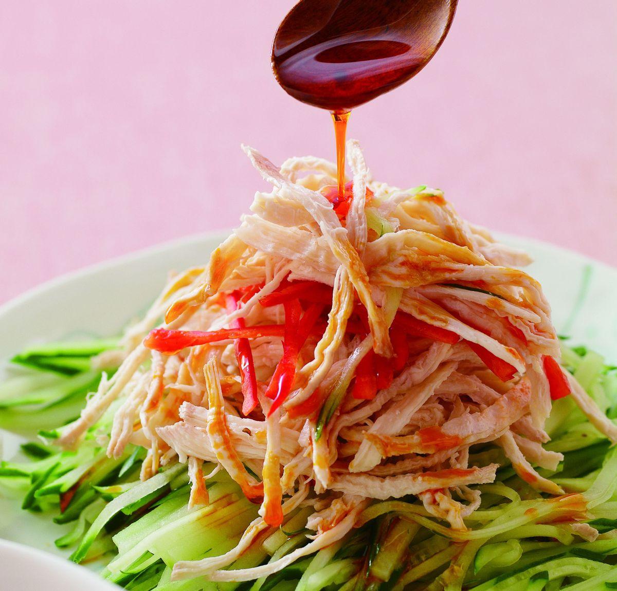 食譜:辣油黃瓜雞