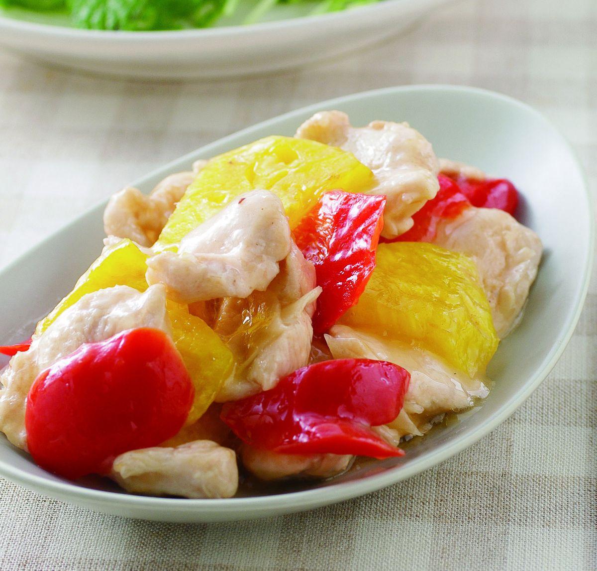 食譜:鳳梨雞片(1)