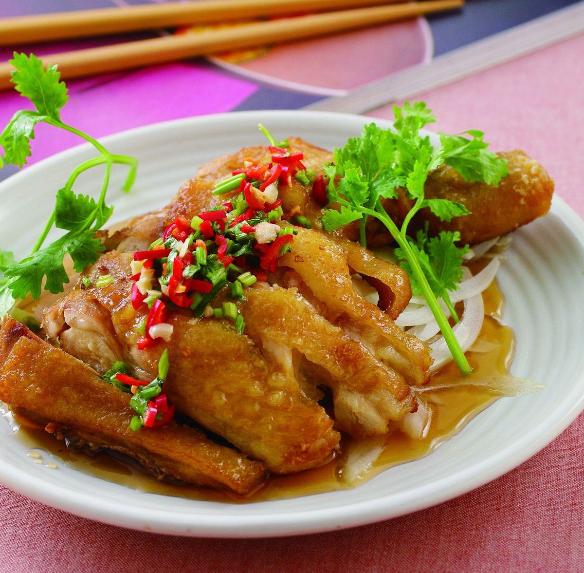 食譜:椒麻雞腿排