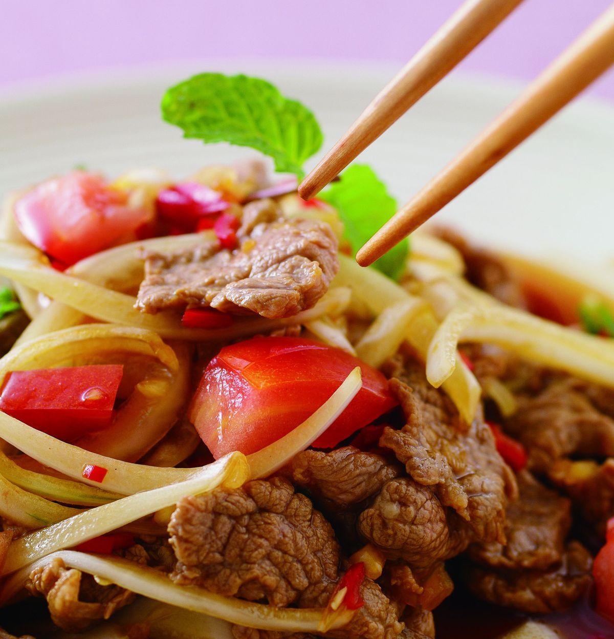 食譜:酸辣拌牛肉