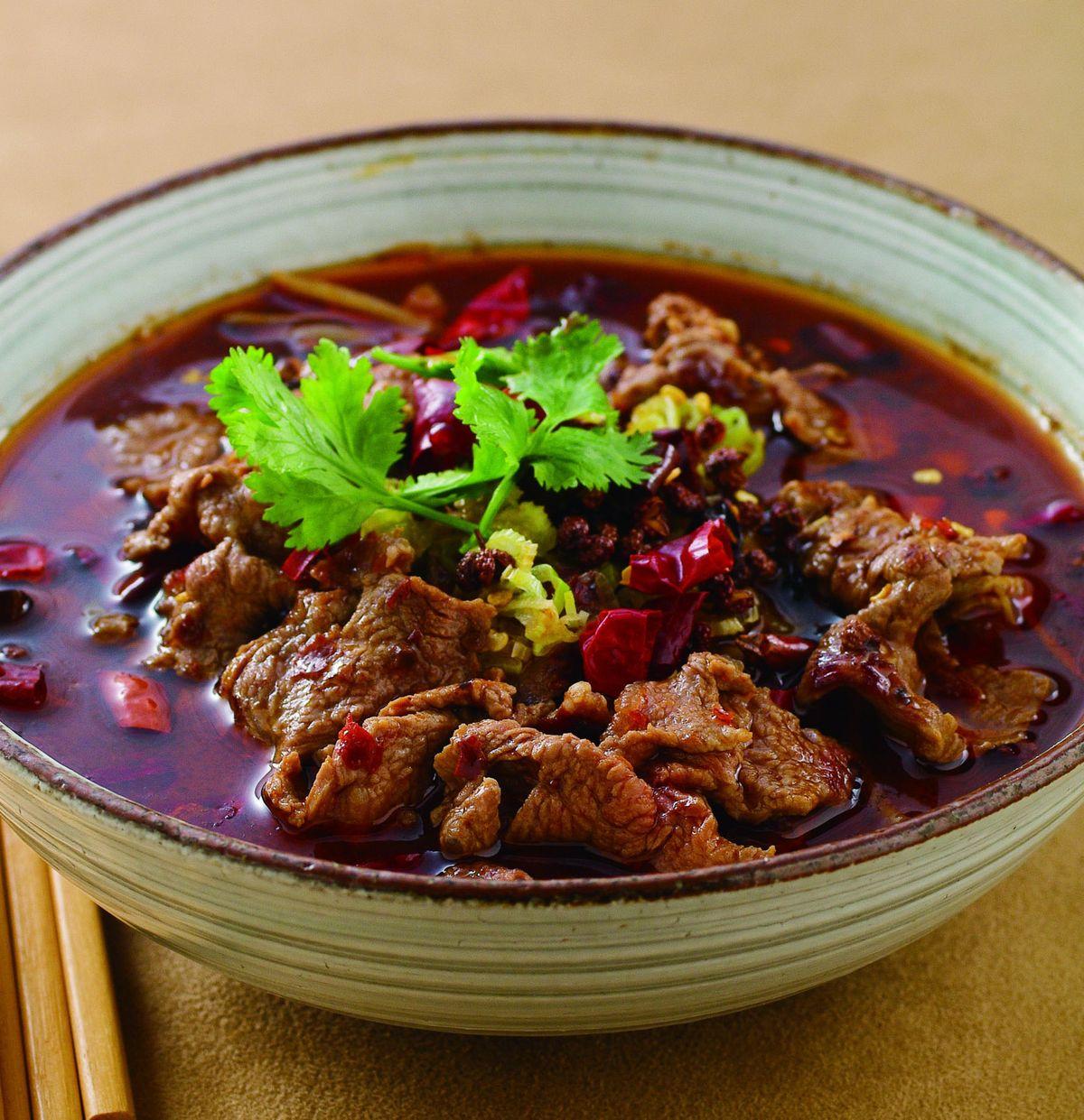 食譜:水煮牛肉(2)