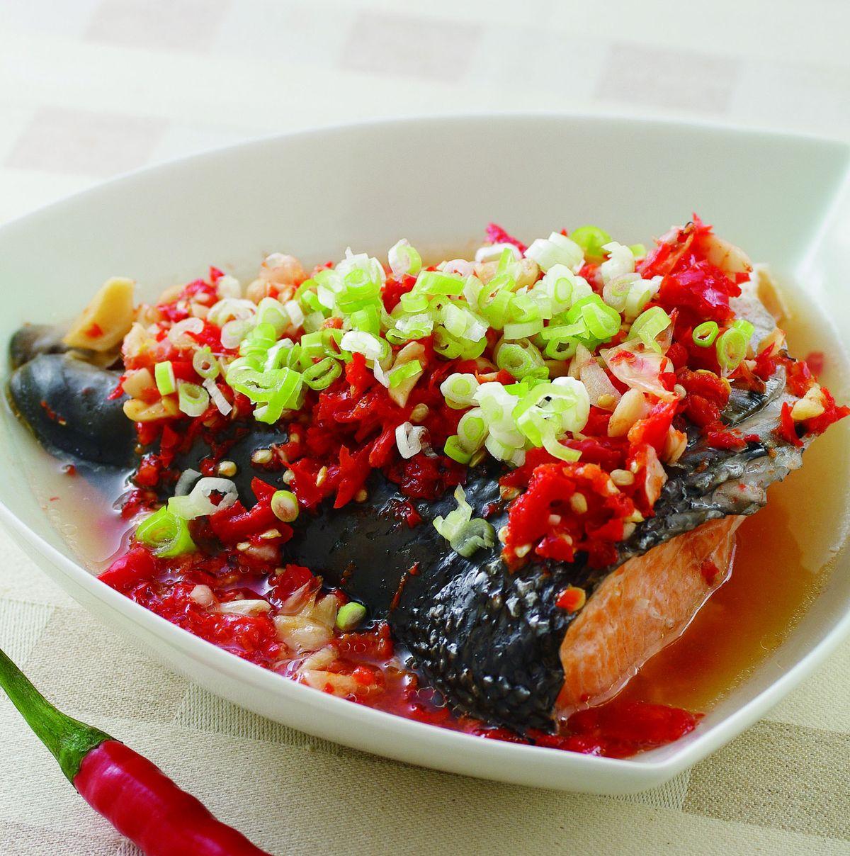食譜:剁椒魚頭(1)