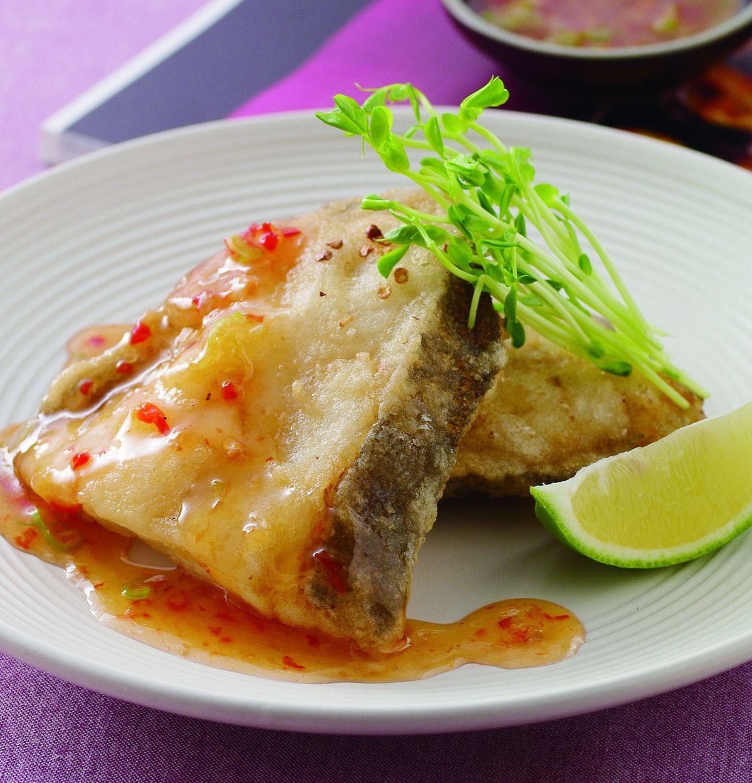 食譜:酸甜鱈魚排