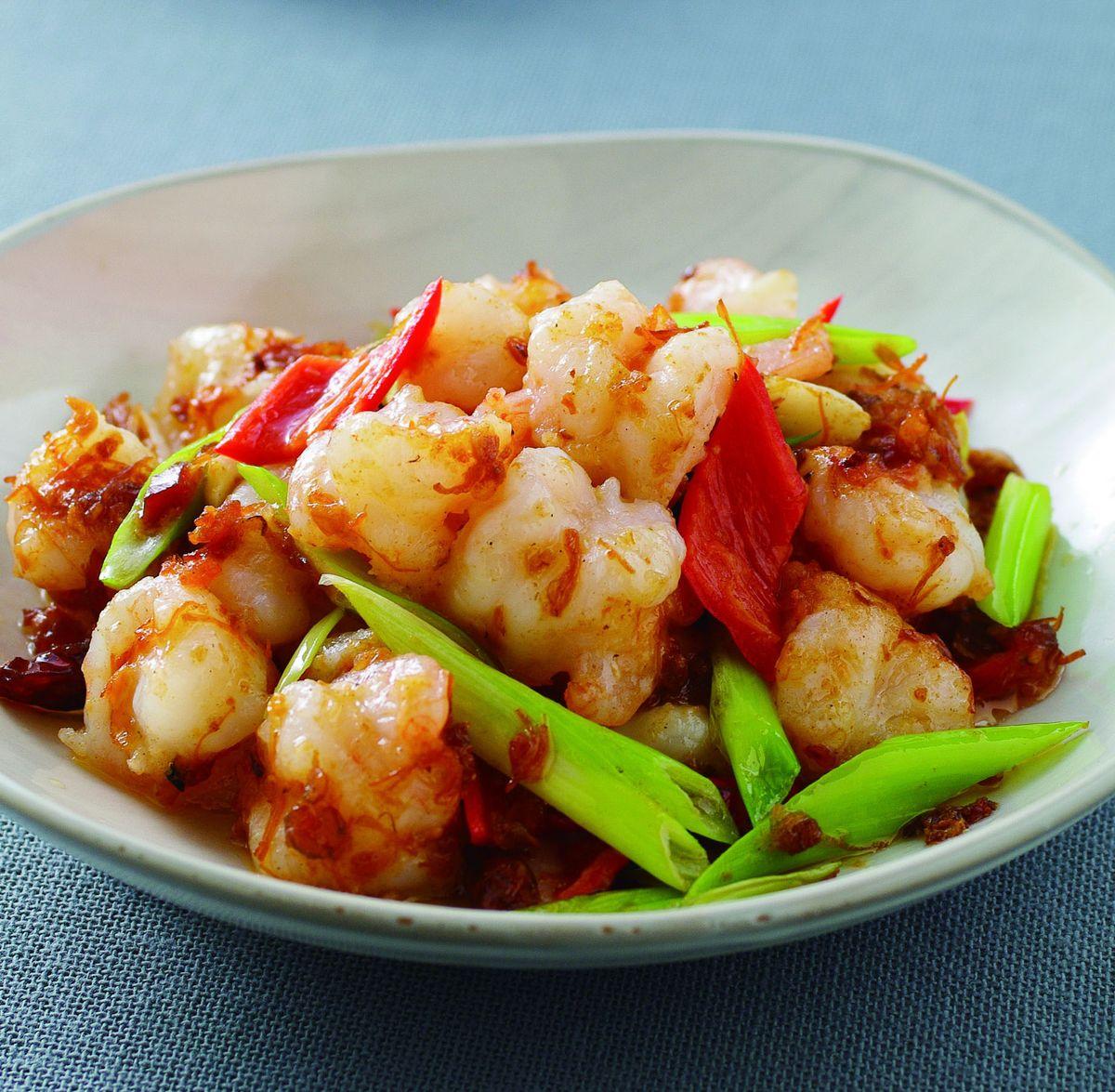 食譜:XO辣醬炒蝦仁