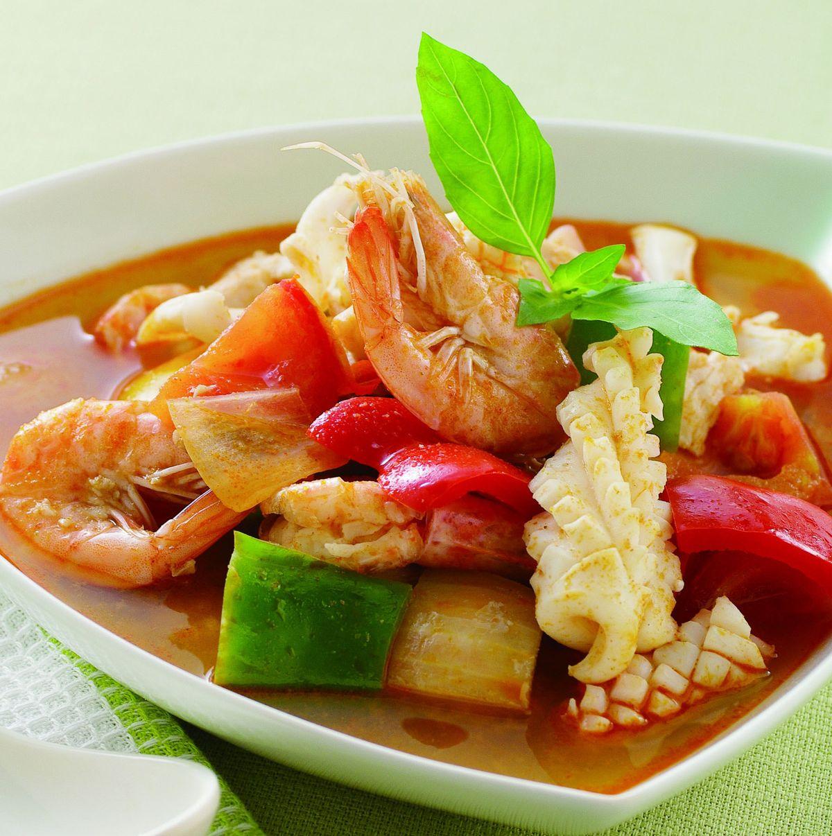食譜:泰式酸辣海鮮