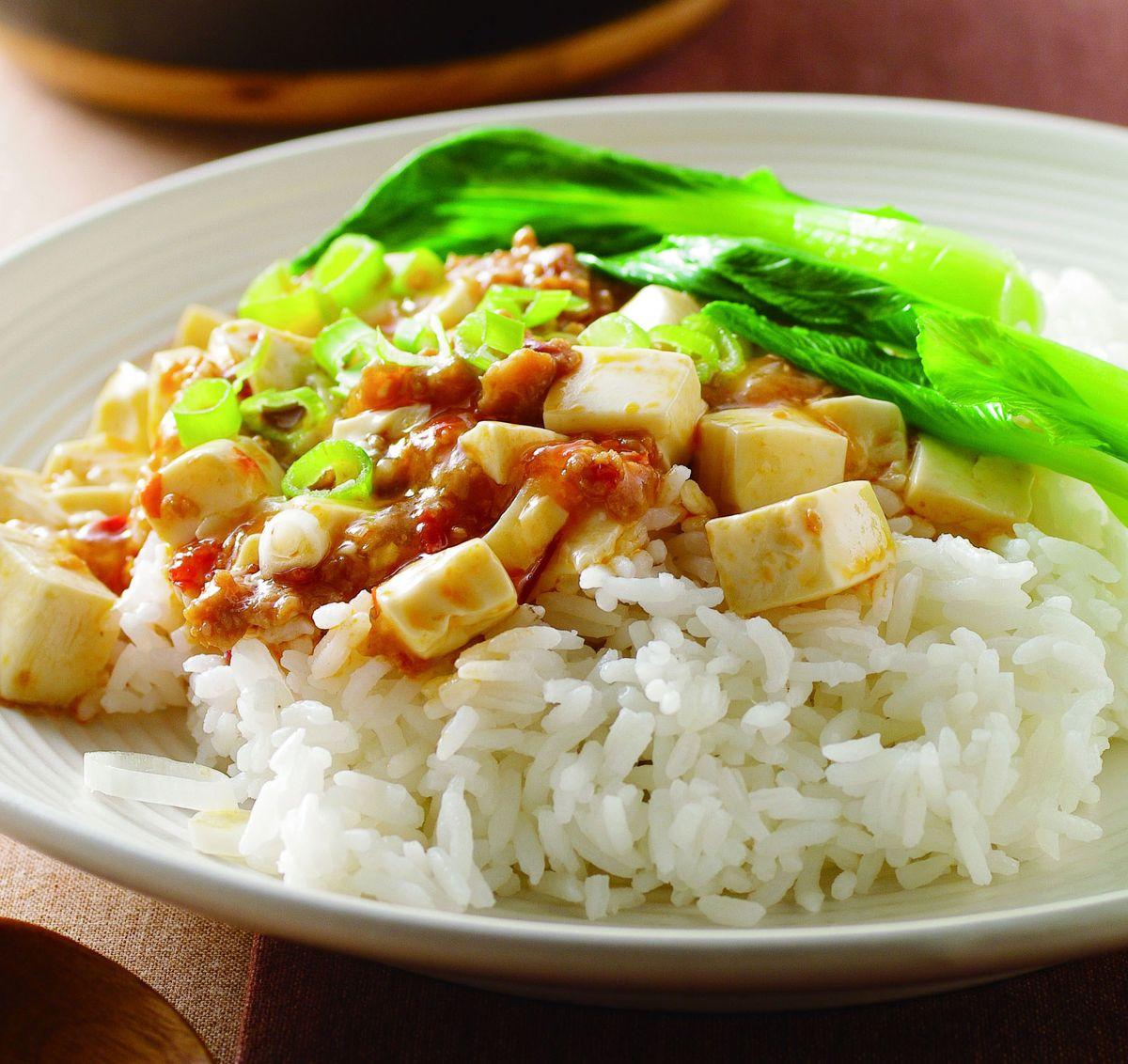 食譜:麻婆豆腐燴飯(2)