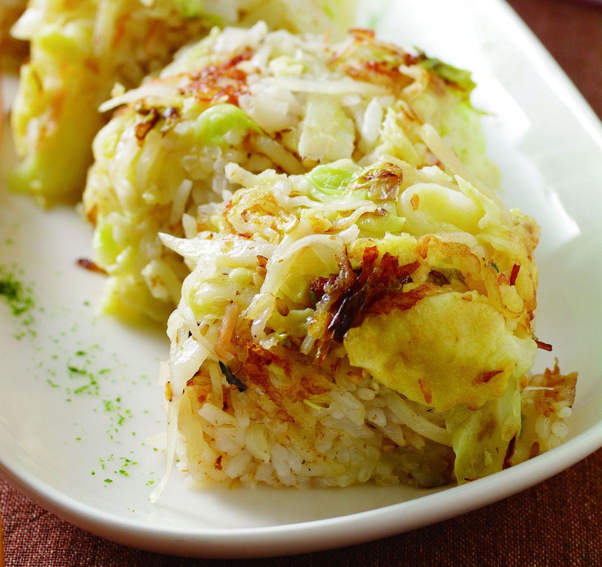 食譜:馬鈴薯蟹肉壽司卷